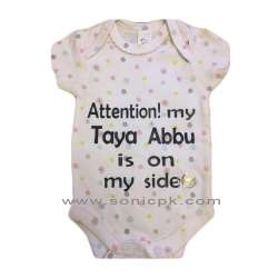 Attention my Taya Abbu is on my side