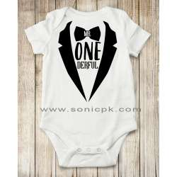 Mr Onederful Romper